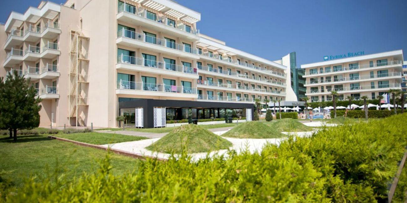 Oferta Litoral 2018 Hotel DIT Evrika Beach Club 4* Bulgaria Sunny Beach