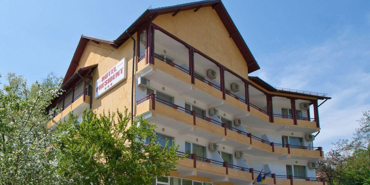 Oferta pentru Balneo 2018 Hotel President 3* - Fara masa/Pensiune Completa